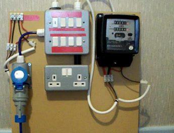 बिजली कनेक्शन